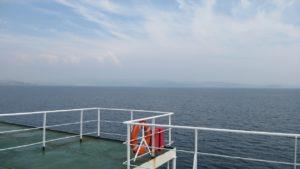 甲板から1