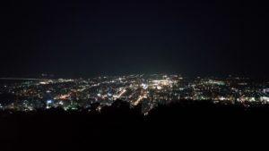 眉山からの夜景2