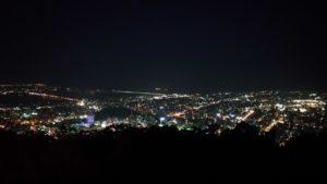 眉山からの夜景1
