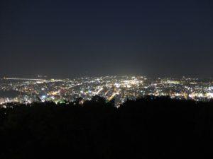 眉山からの夜景3