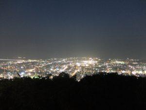 眉山からの夜景4