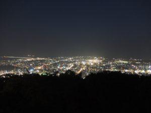 眉山からの夜景5