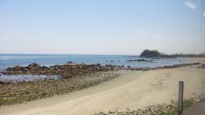 鳴門付近の海
