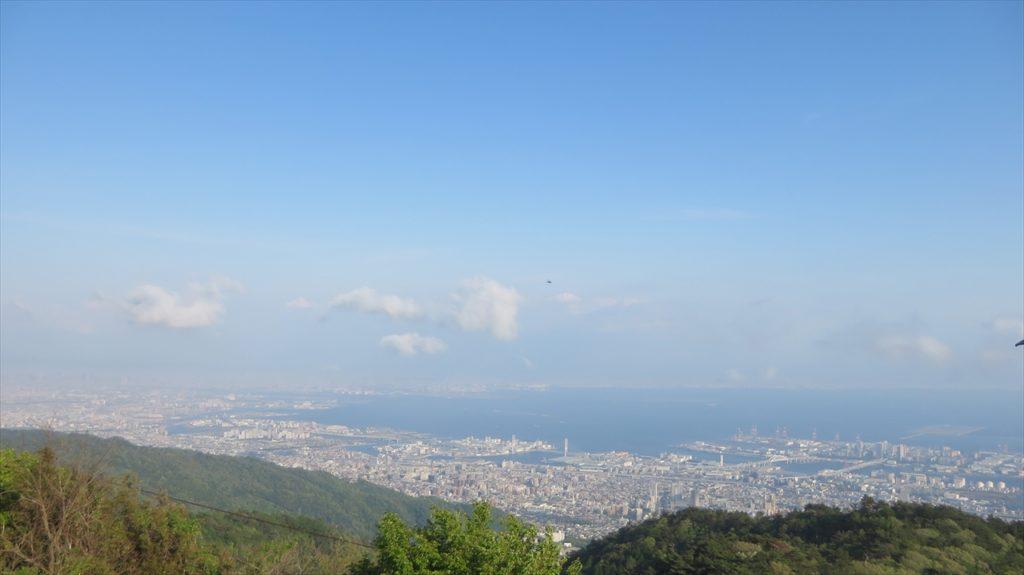 六甲山からの眺め1