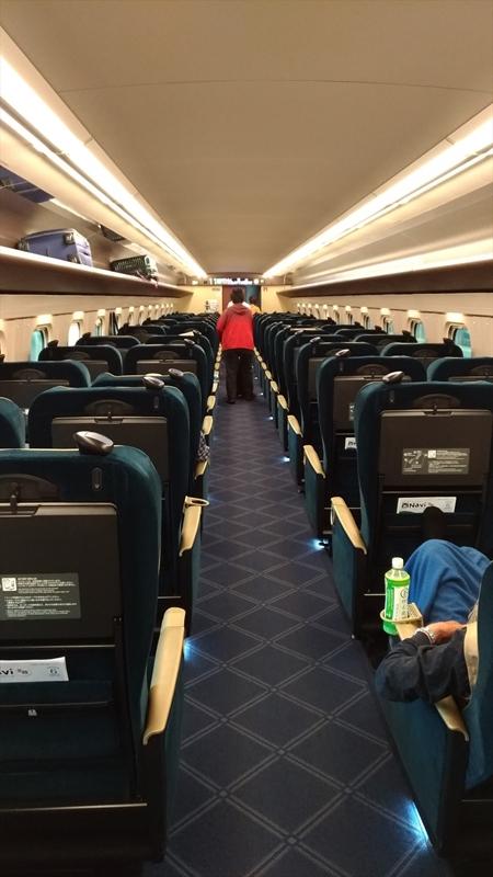 北陸新幹線グリーン車