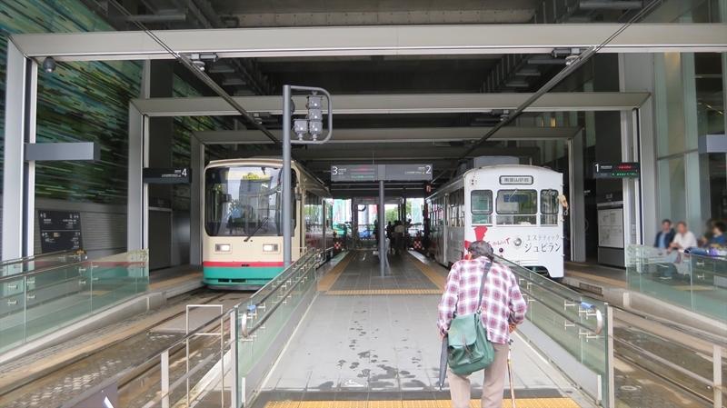 富山駅停留場