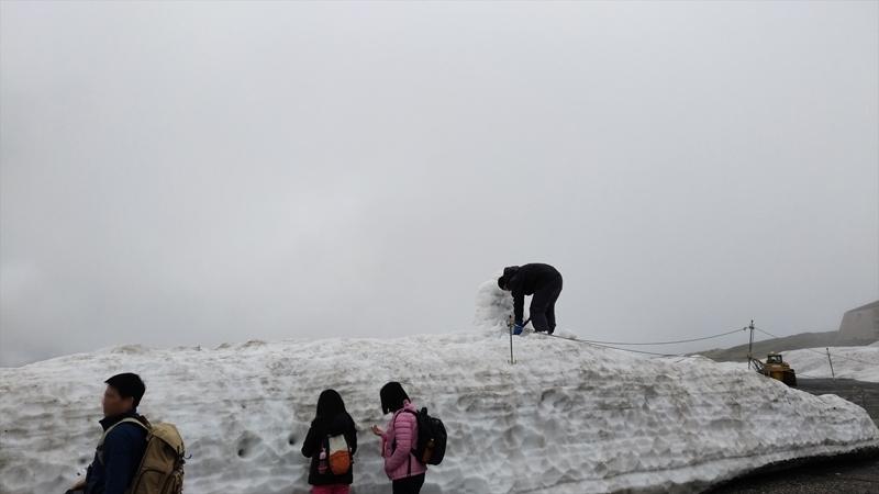 雪の大谷10