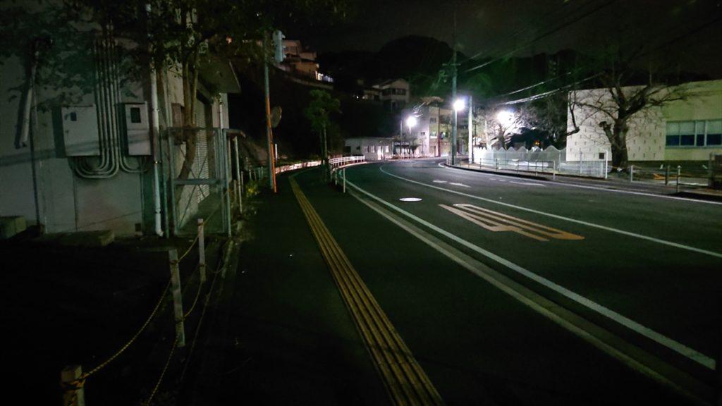 稲佐山ロープウェイまでの道