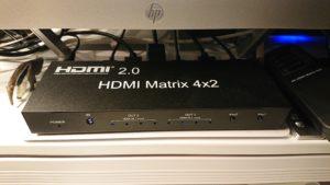 HDMIマトリクススイッチ